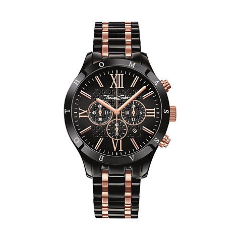 THOMAS SABO Herrenchronograph WA0196-268-203-43 MM