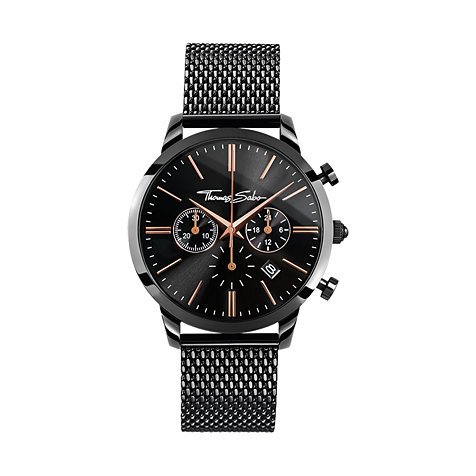 THOMAS SABO Herrenchronograph WA0247-202-203-42 mm