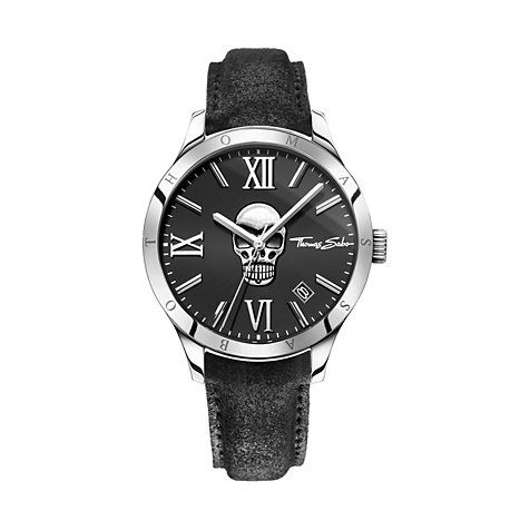 THOMAS SABO Herrenuhr WA0210-218-203-43 mm