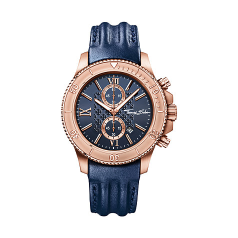 THOMAS SABO Herrenchronograph WA0214-270-209-44 mm