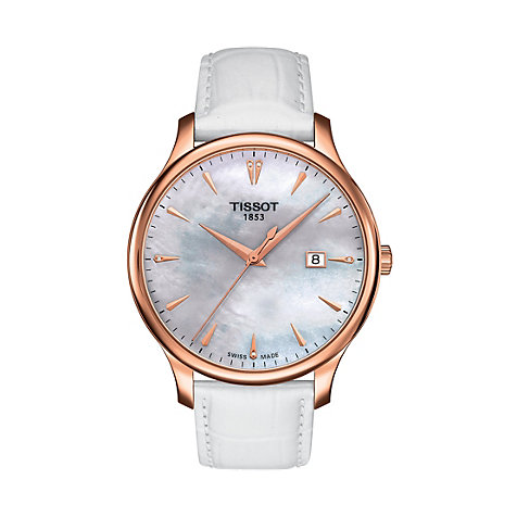 Tissot Damenuhr Tradition T0636103611601