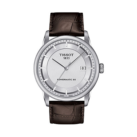 Tissot Herrenuhr Luxury T0864071603100