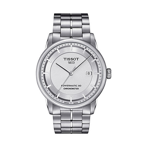 Tissot Herrenuhr Luxury T0864081103100