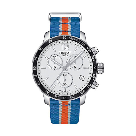 Tissot Herrenuhr Quickster NBA New York T0954171703706