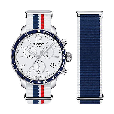 Tissot Chronograph Quickster T095.417.17.037.09