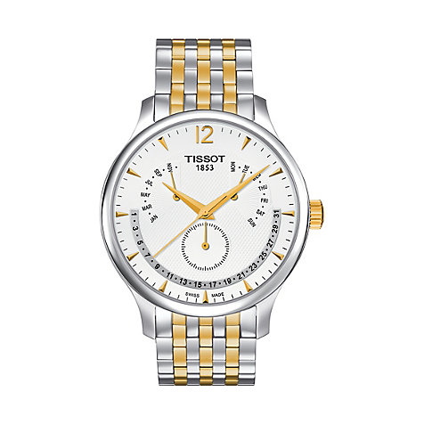 Tissot Herrenuhr Tradition Perpetual T0636372203700