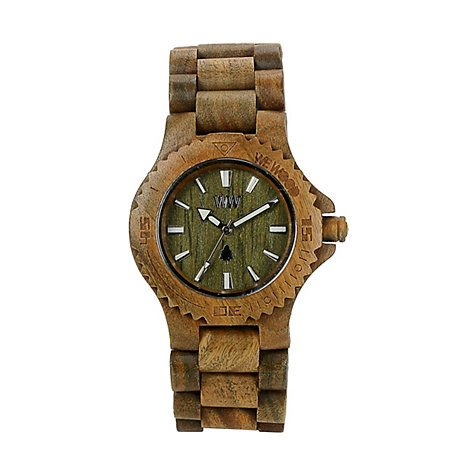 Wewood Herrenuhr Date army WW01002