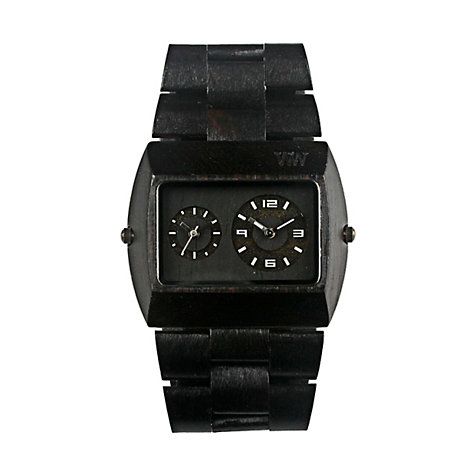 Wewood Herrenuhr Jupiter black WW02003