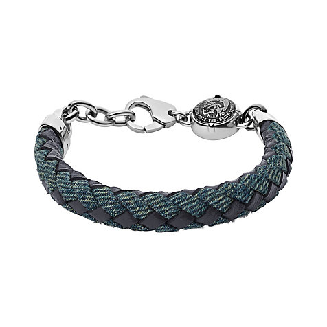 Diesel Herrenarmband Denim DX0915040
