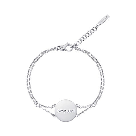 JETTE Silver Armband My Love 86952599