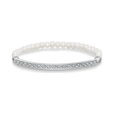 THOMAS SABO Armband Love Bridge LBA0003-167-14-L17,5