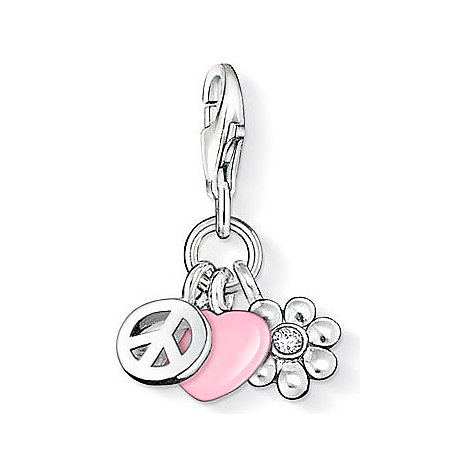 THOMAS SABO Charm Love Peace 0834-041-9