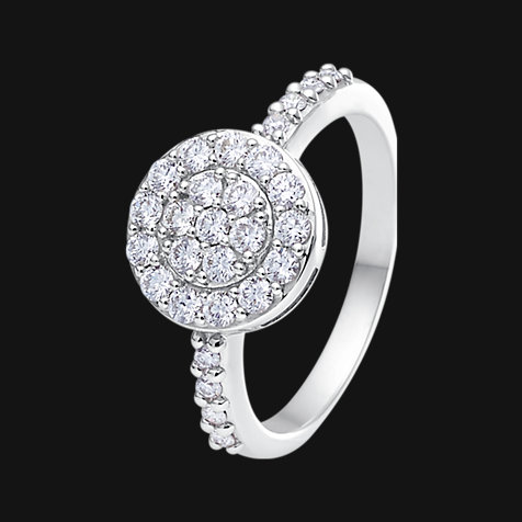 CHRIST Diamonds Damenring 86839237