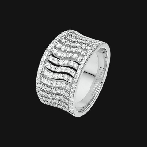 CHRIST Diamonds Damenring 87047865