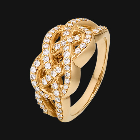 CHRIST Diamonds Damenring 87048152