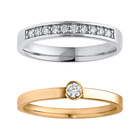 CHRIST Diamonds Ringset 5000624