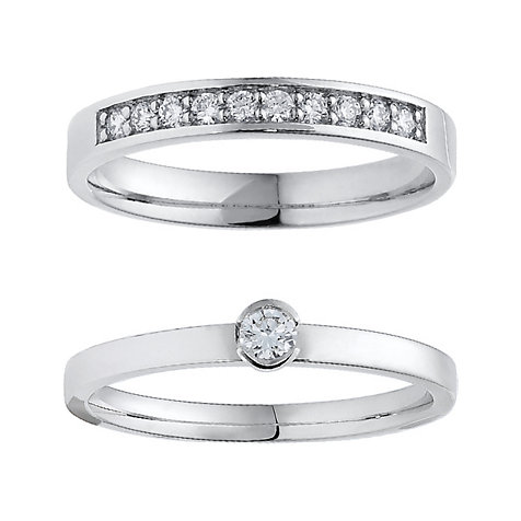 CHRIST Diamonds Ringset 5000629