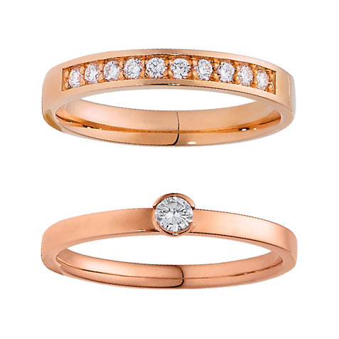 CHRIST Diamonds Ringset 5000649