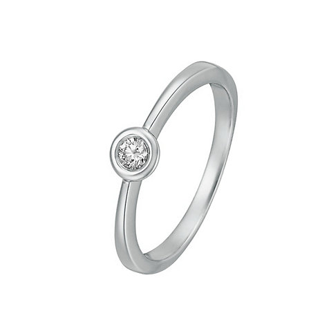 CHRIST Solitaire Damenring 60014981
