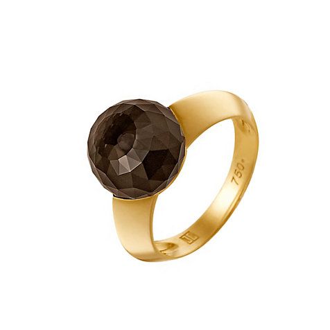 JETTE Gold SMOKY SPARKLE Damenring 60020310