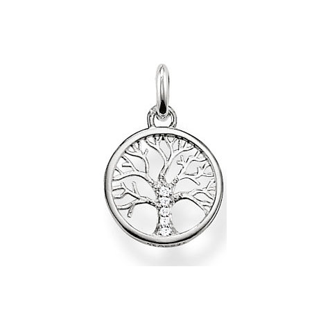 THOMAS SABO Anhänger Wheel of Karma  KC0002-051-14