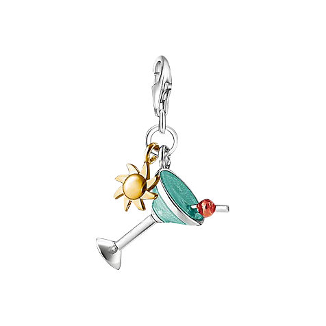 THOMAS SABO Charm-Anhänger Cocktail 1039-427-1