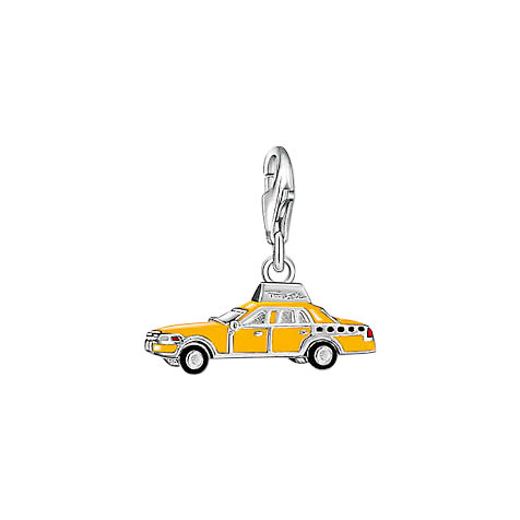 THOMAS SABO Charm Yellow Cab  1067-007-4