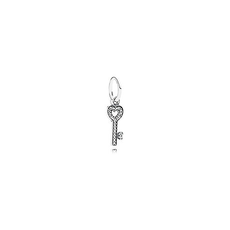 PANDORA Charm Key silver dangle 791353CZ