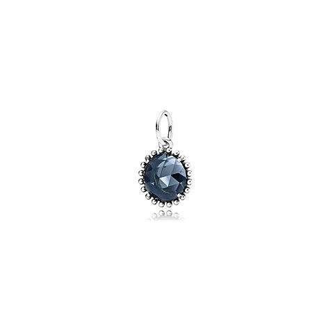 PANDORA Charm Midnight Blue Crystal 390361NBC