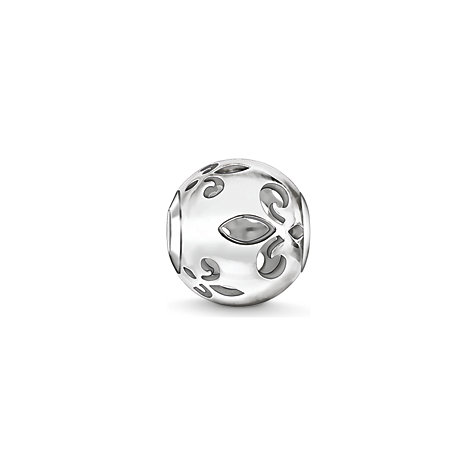 THOMAS SABO Bead Bourbonische Lilie cut-out K0234-001-12
