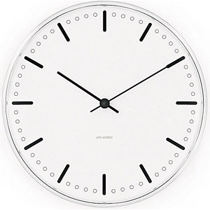 Arne Jacobsen Wanduhr City Hall 43631