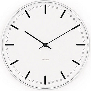Arne Jacobsen Wanduhr City Hall 43641