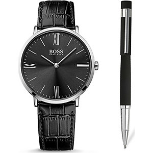 BOSS Herrenuhr Set Jackson 1570074
