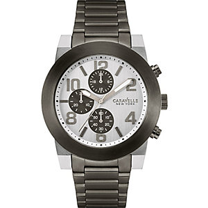 Caravelle New York Herrenhronograph 45A127