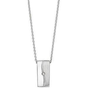 CHRIST Silver Diamonds Collier 84992704