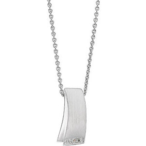 CHRIST Silver Diamonds Collier 86252929