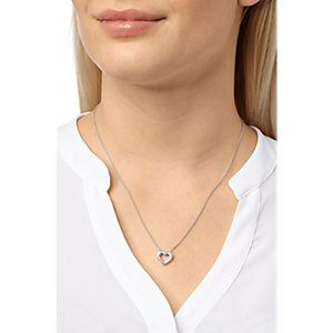 CHRIST Silver Diamonds Collier 86616211