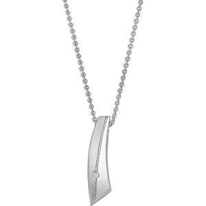 CHRIST Silver Diamonds Collier