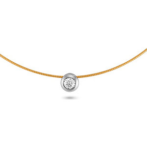 CHRIST Solitaire Collier 84578282
