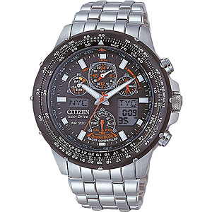 CITIZEN Herrenchronograph  RADIO CONTROLLED JY0020-64E