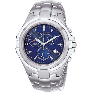 CITIZEN Herrenchronograph TITANIUM AT1100-55L