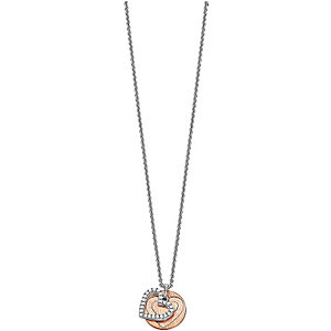 Esprit Collier Brilliance Heart Rose ESNL92274A420