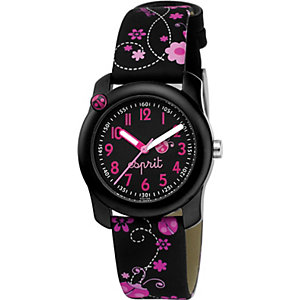 Esprit Kids Kinderuhr Lucky Love Black ES103514009