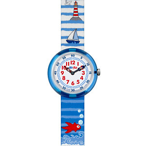 Flik Flak Kinderuhr Water Stripes FBNP020