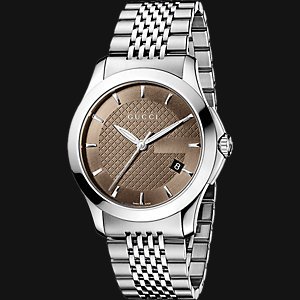 GUCCI Herrenuhr Timeless YA126406