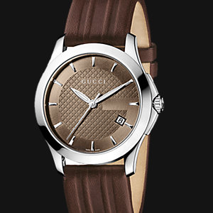 GUCCI Herrenuhr Timeless YA126403