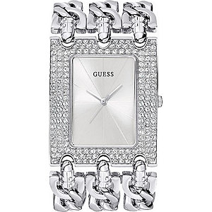 Guess Damenuhr Heavy Metal W13097L1