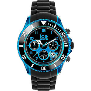 Ice-Chrono Elektrik Black-Blue Big Big CH.KBE.BB.S.12