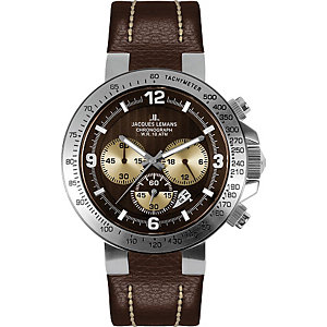 Jacques Lemans Herrenchronograph Powerchrono 1-1485B