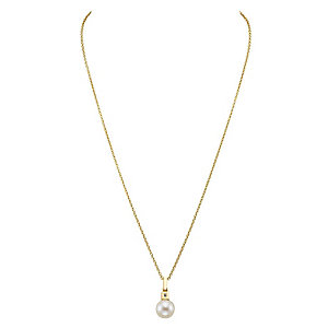 JETTE Gold Collier  Just Pearl